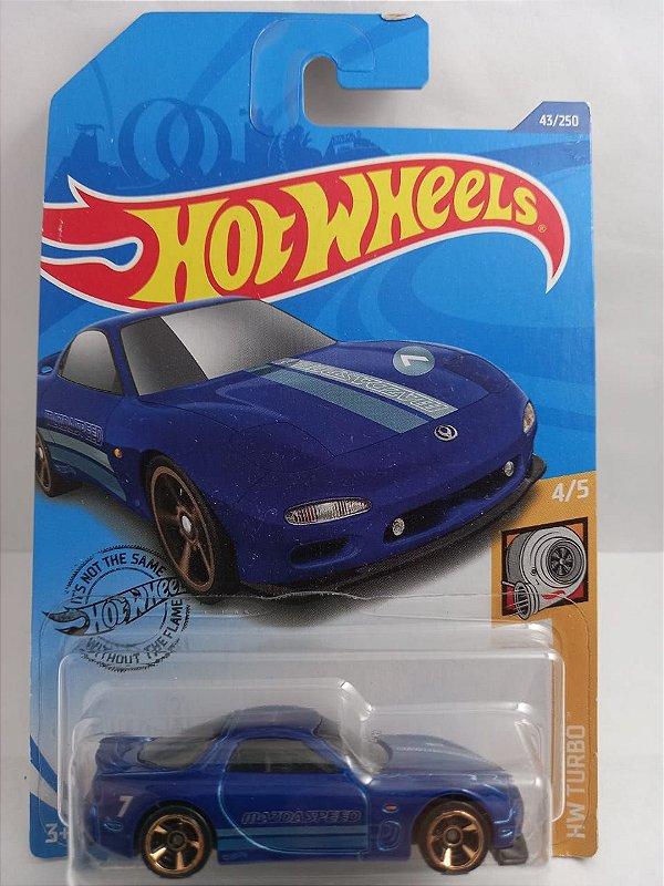Miniatura Hot Wheels - Mazda RX7 1995 - HW Turbo