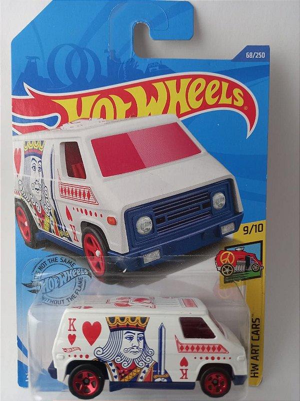 Miniatura Hot Wheels - Super Van - HW Art Cars