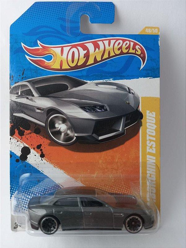 Miniatura Hot Wheels - Lamborghini Estoque - 2011 HW Premiere
