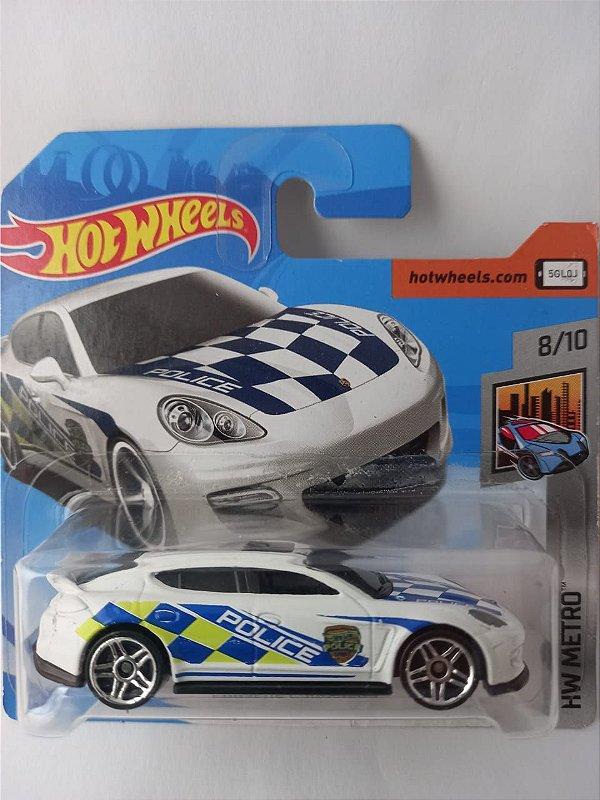 Miniatura Hot Wheels - Policia Porsche Panamera - HW Metro