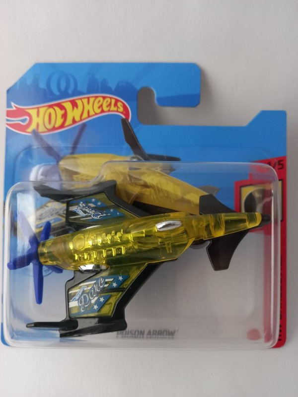 Miniatura Hot Wheels - Avião Poison Arrow - HW Daredevils
