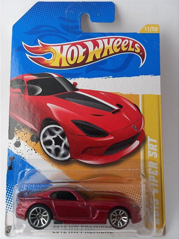 Miniatura Hot Wheels - Dodge Viper SRT - 2012 HW Premiere