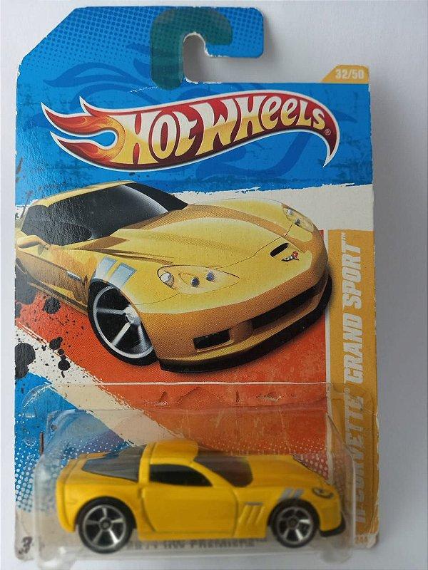 Miniatura Hot Wheels - Corvette Grand Sport 2011 HW Premiere