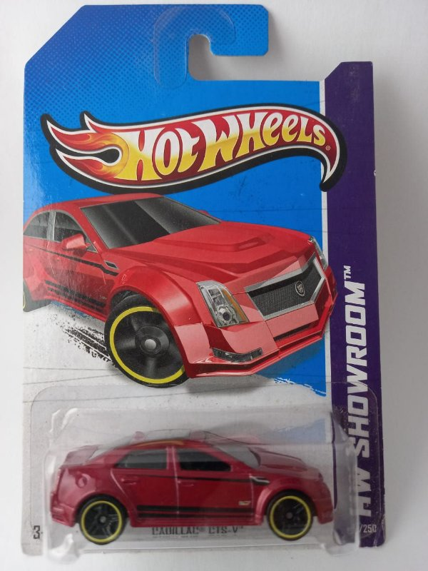 Miniatura Hot Wheels - Cadillac CTS-V - HW Showroom