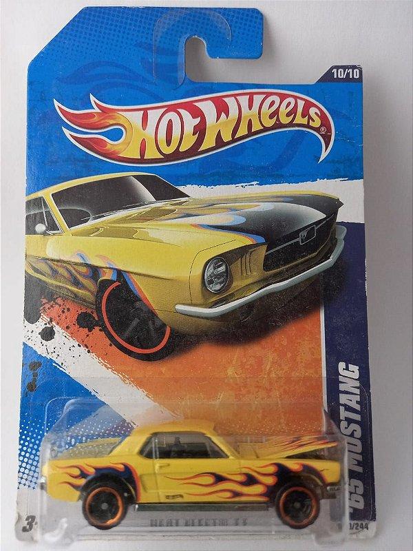 Miniatura Hot Wheels Ford Mustang 1965 Heat Fleet Abre Capô