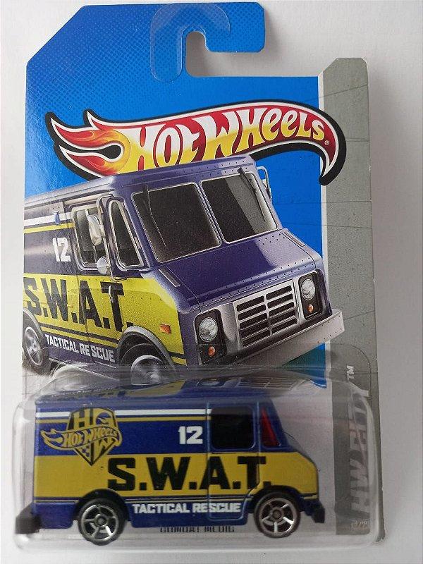 Miniatura Hot Wheels - Van Combat Medic SWAT - HW City