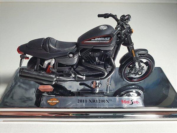 Miniatura Moto Harley Davidson XR1200X 2011 - Escala 1/18