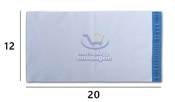 Envelope Plástico de Segurança 12 X 20 cm