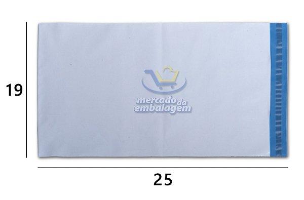 Envelope Plástico de Segurança 19 X 25 cm