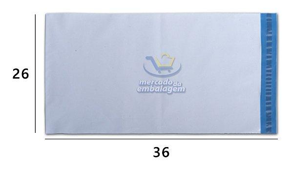 Envelope Plástico de Segurança 26 X 36 cm