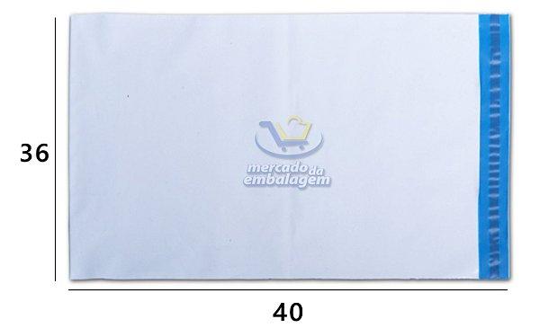 Envelope Plástico de Segurança 36 X 40 cm