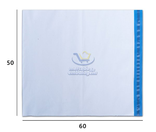 Envelope Plástico de Segurança 50 X 60 cm