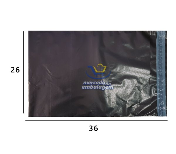 Envelope de Segurança EcoBlack 26 X 36 cm