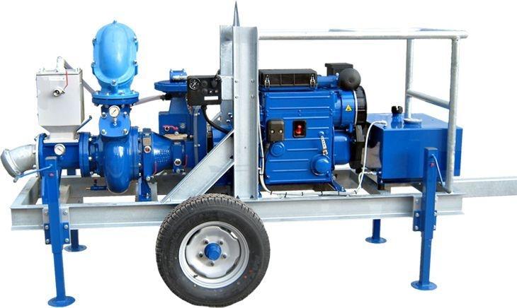 "Motobomba a Diesel BBA 150 6"" Standard"