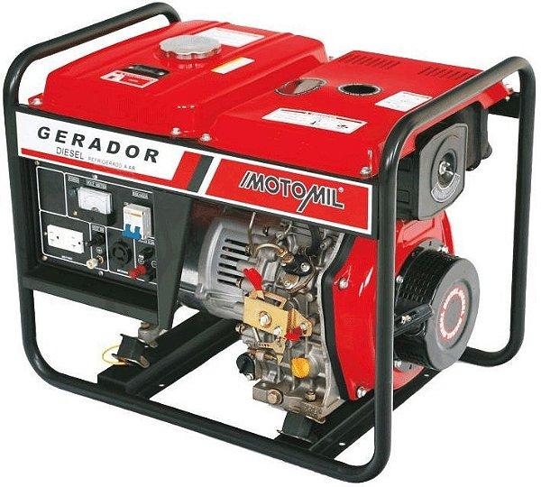 Gerador a diesel 5 KVA