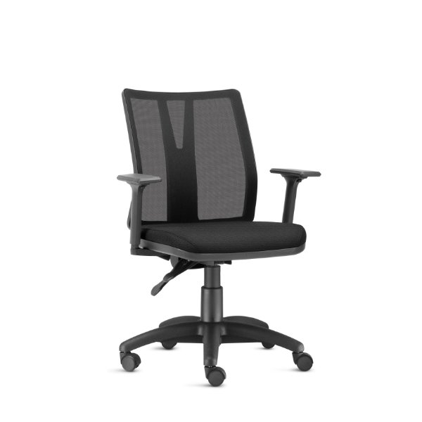 Cadeira Office Smart - Alessandra Preta