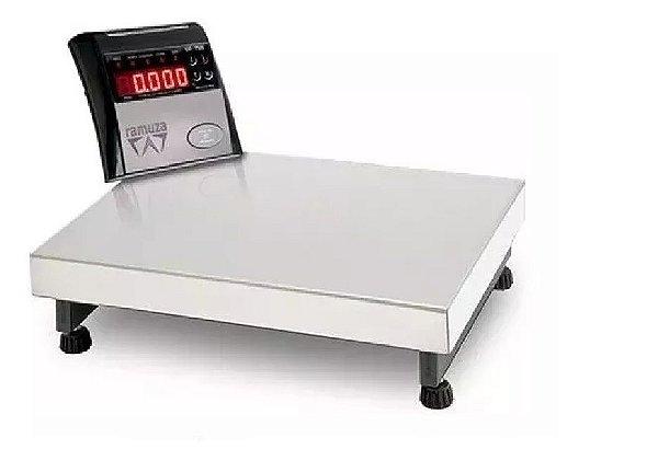 Balança Eletrônica Ramuza Inox Digital 50 gramas a 150kg - Pro