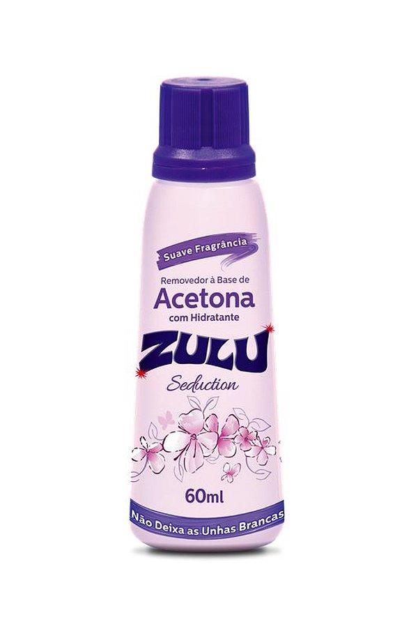 Removedor de Esmalte à Base de Acetona Zulu seduction com 90mL