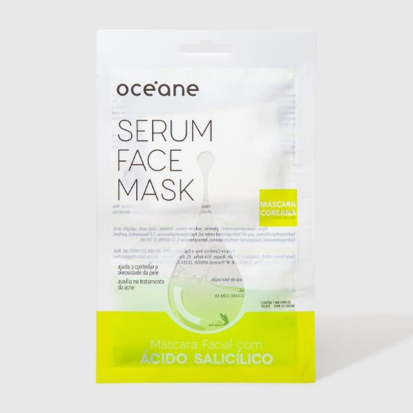 Serum Face Mask - Máscara Facial com Ácido Salicílico