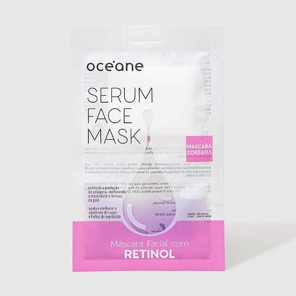 Serum Face Mask - Máscara Facial com Retinol
