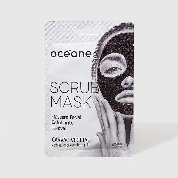 Scrub Mask - Máscara Facial Esfoliante Carvão Vegetal Oceane