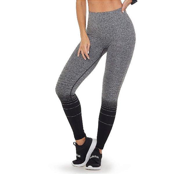 Calça Legging Fitness Ombré Sem Costura