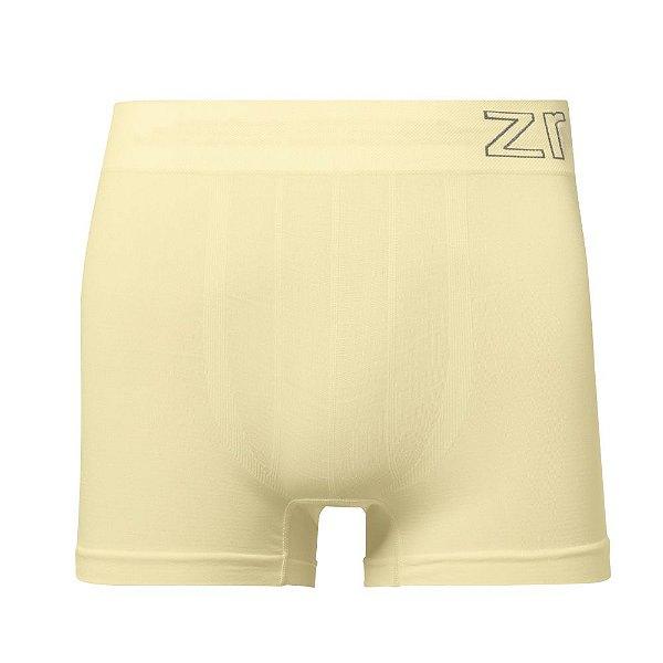 Cueca Boxer Sem Costura Amarelo