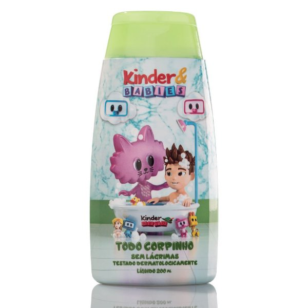 Sabonete Todo Corpinho Kinder & Babies Camomila 200 ml