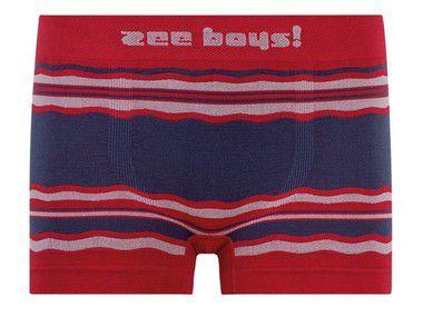 Cueca Boxer Infantil Nautical Vermelha