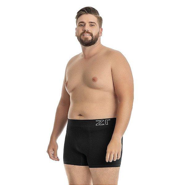 Cueca Boxer sem Costura Preto