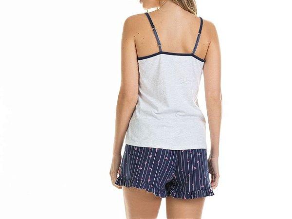 Pijama Blusa Alça e Short
