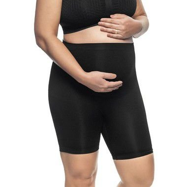 Bermuda Maternity Sem Costura Preta