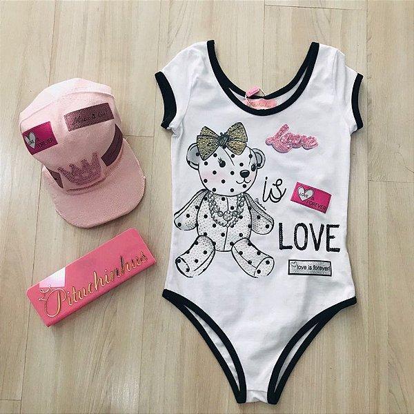Body Cotton Urso Love