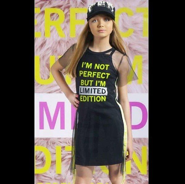 Vestido Rib Limited Sobreposição Tule