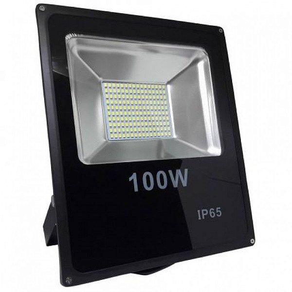 Refletor Holofote LED - 100W - Bivolt - IP66