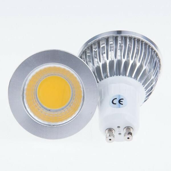 Lâmpada Dicroica LED - COB 3W - GU10