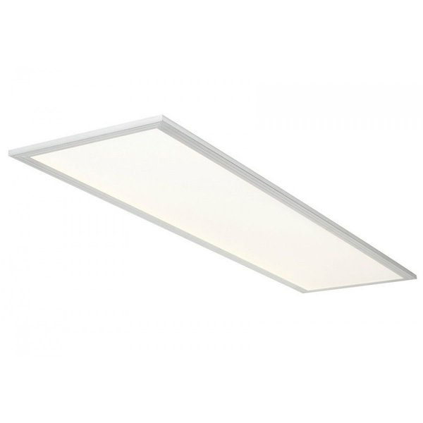 Painel Dowlight de Embutir Led-24W - 32X62- Com Moldura Branca