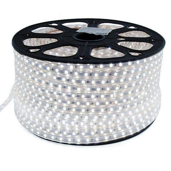 Mangueira de LED 12MM - Rolo com 100 Metros - Branco Frio