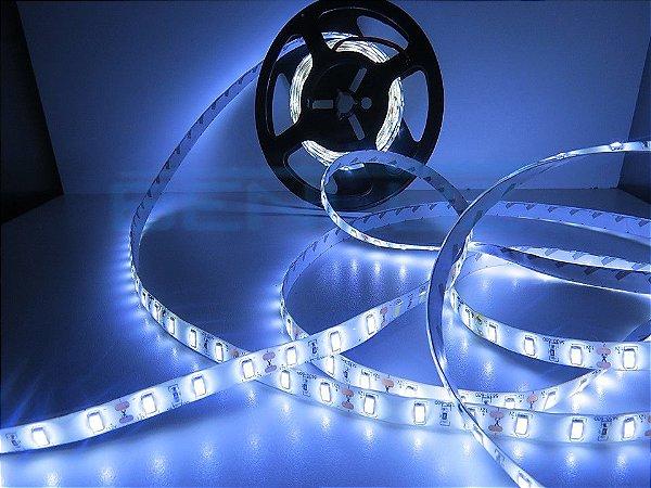 Fita LED 5630 Branco Frio com Silicone IP65 5M 12V