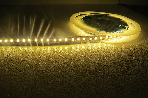 Fita 120 LEDs por metro 2835 Branco Quente sem Silicone IP20 5M
