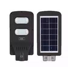 Luminária Pública LED 60W c/ Painel Solar