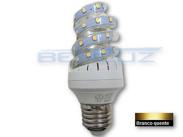 Lâmpada Espiral LED 7W - Branco Quente