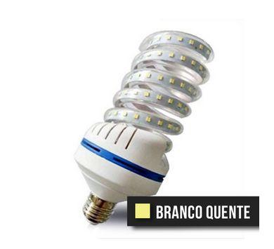 Lâmpada Espiral LED 32W - Branco Quente Bivolt