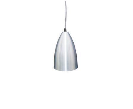 Luminária Pendente Bala Prata