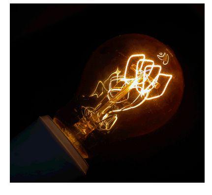 Lâmpada Bulbo Filamento de Carbono 40W 127V