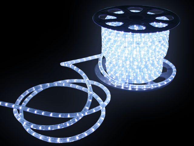 Mangueira LED Branca Fria 12 MM Rolo com 100 Metros