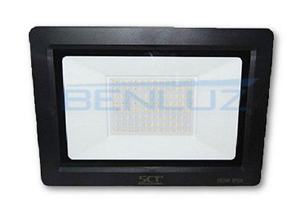 Refletor Super LED 150W - Branco Frio IP66