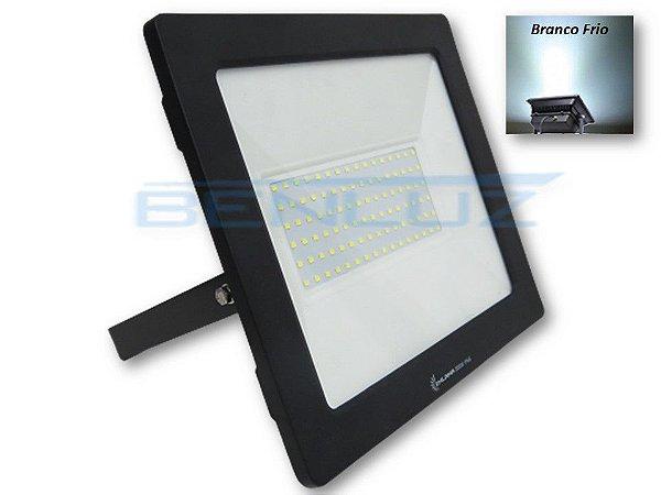 Refletor de LED Mini Ligth 200W Branco Frio A Prova d'água