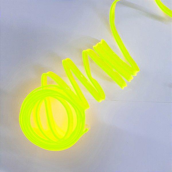 Fita LED Tubo Neon Verde Fluorescente Blindada 5M12V