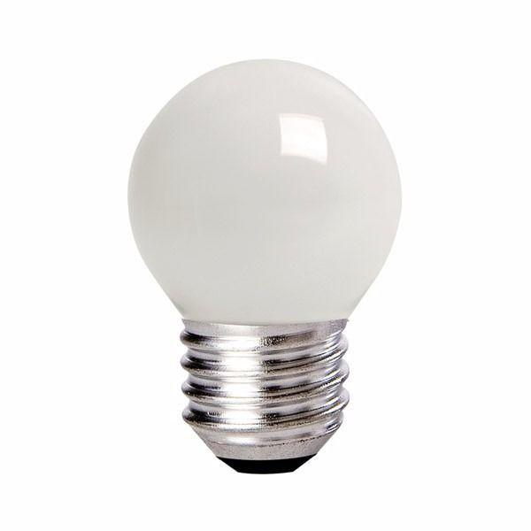 Lâmpada Bulbo 1W LED Bolinha Branco Quente 220V
